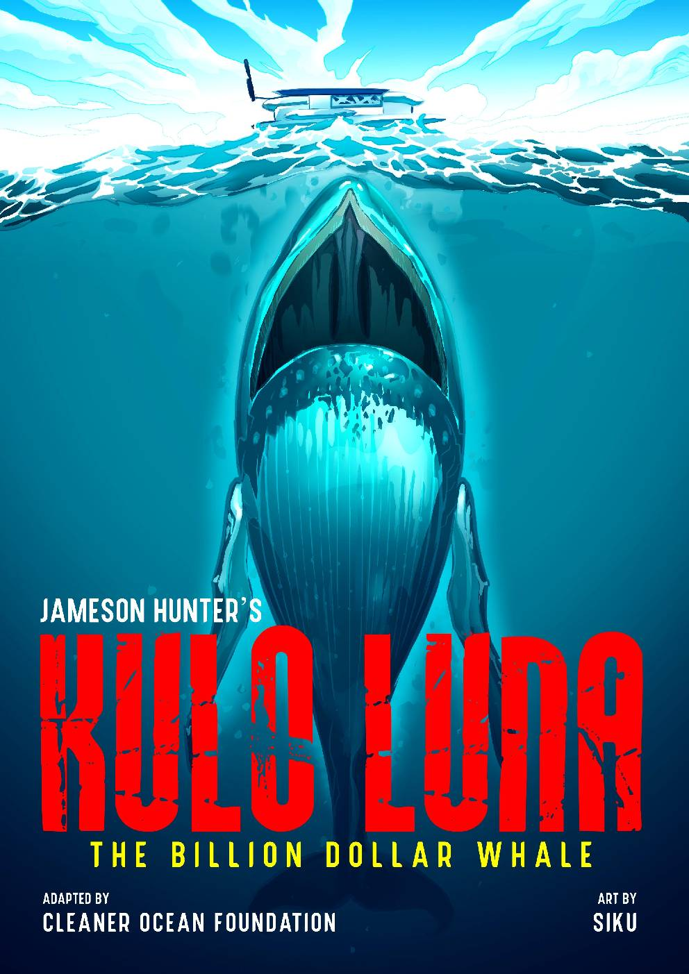 Kulo Luna sinks a pirate whaling boat, then is chased by more whalers