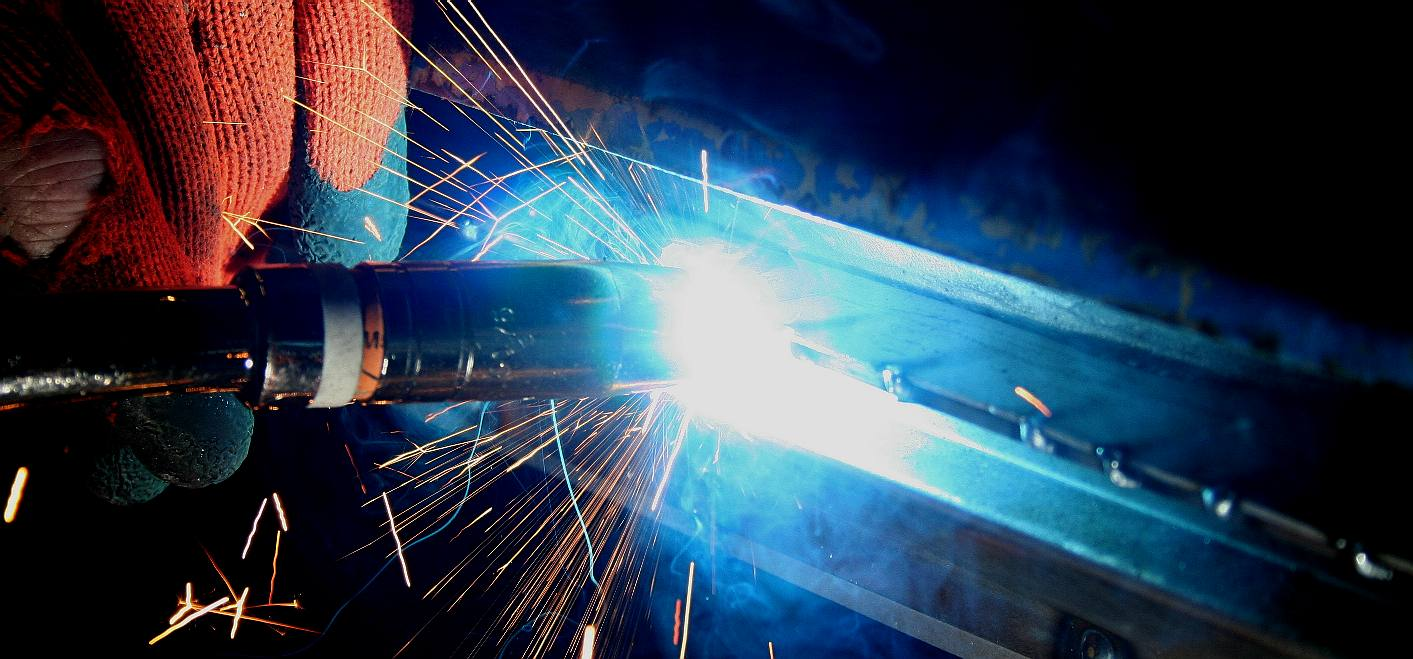 Welding with the R-Tech 240 amp inverter